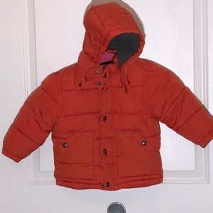 Baby Gap Orange Puffer Coat 2T